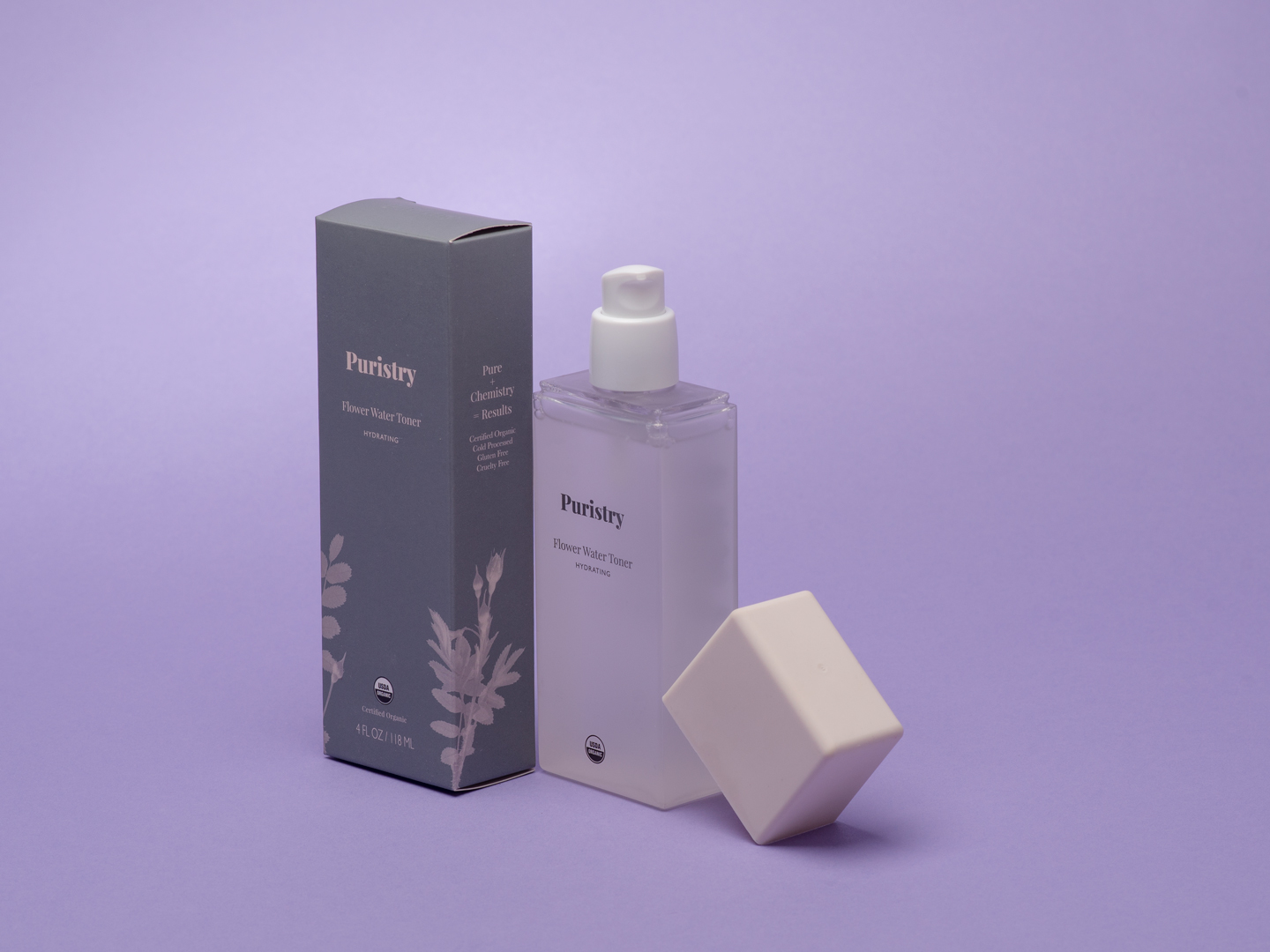 Flower Water Toner from Puristry