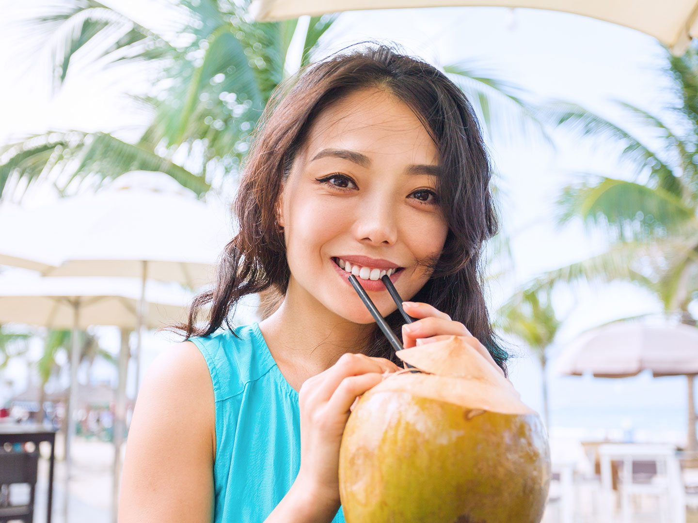 How to Drink Coconut Water